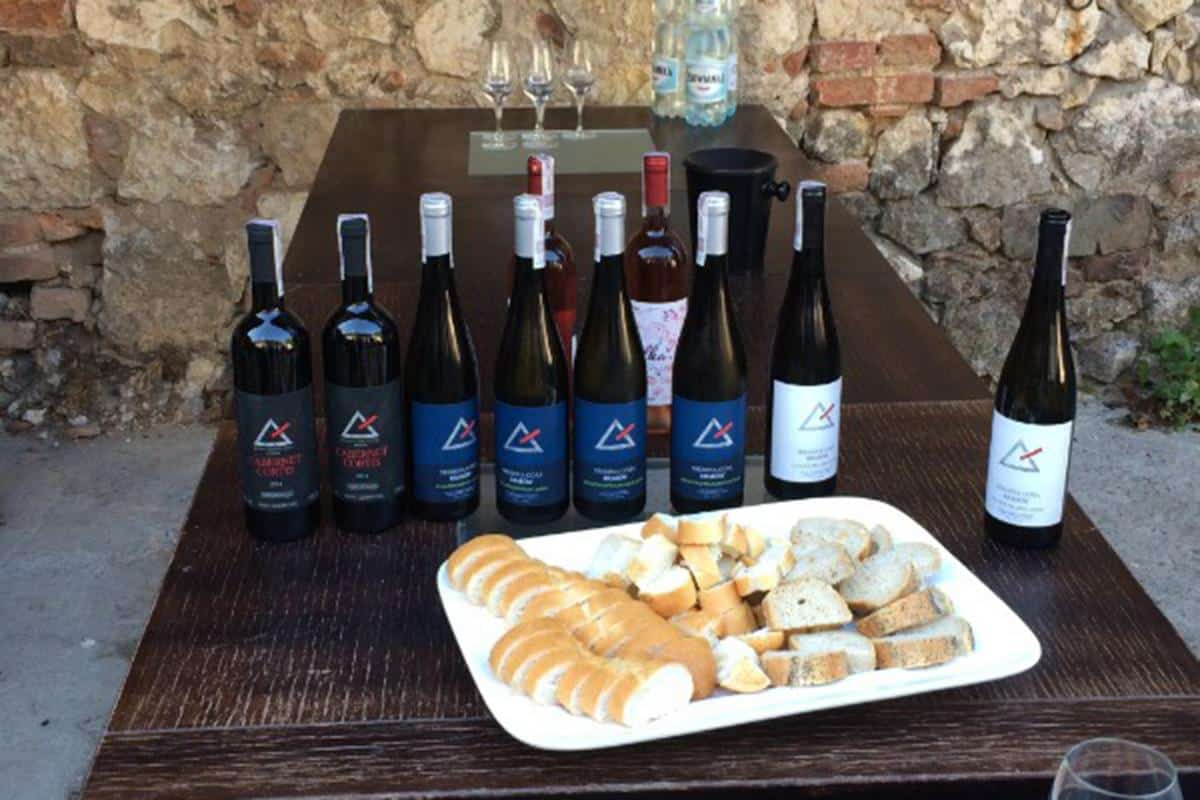 Wines from Srebrna Gora winery in Lesser Poland