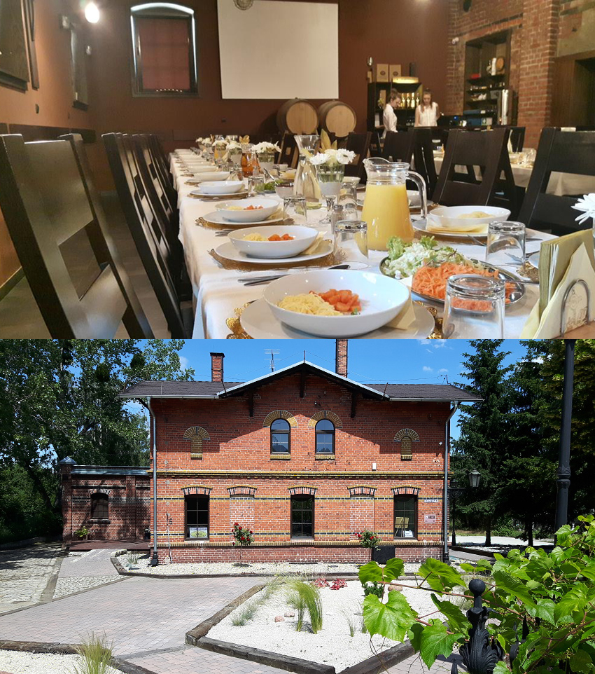 polish vineyards celtica accommodation old building romantic lower silesia trip vine tasting holiday